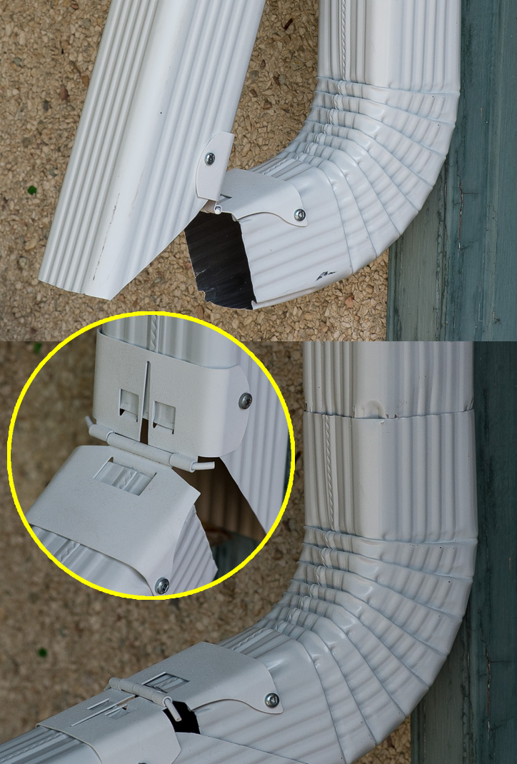 Eavestrough And Gutter Downspout Extensions